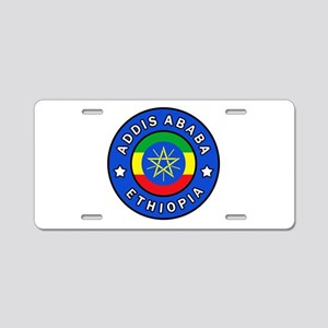 Addis Ababa Ethiopia Aluminum License Plate