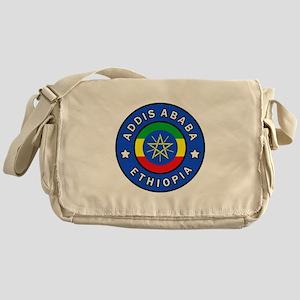 Addis Ababa Ethiopia Messenger Bag