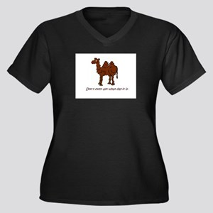 CAMEL - Don't even ask what day Plus Size T-Shirt