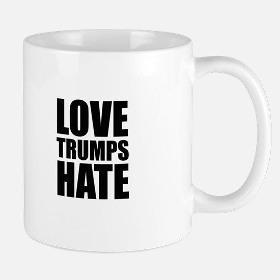Love Trumps Hate Mugs