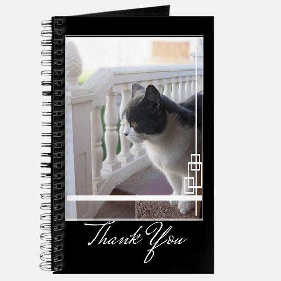 Thank you cat Journal