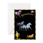 Harness Racing Congratulation Cards (Pack of 10)