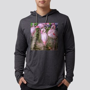 Pink Flamingos Long Sleeve T-Shirt