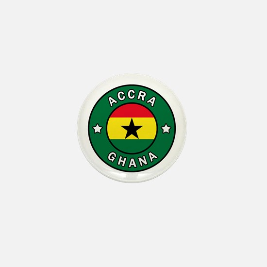 Cute Accra Mini Button