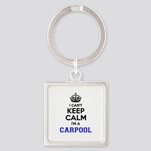Carpool I cant keeep calm Keychains