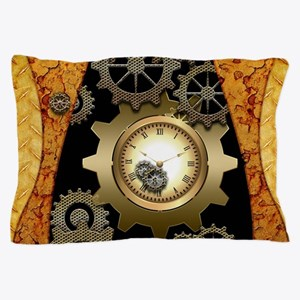 Awesome steampunk design with clocks and gears Pil