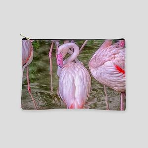 Pink Flamingos Makeup Bag