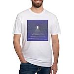14b.twilitezone..? Fitted T-Shirt