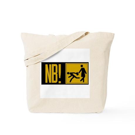 Beware of Muggers, Estonia Tote Bag