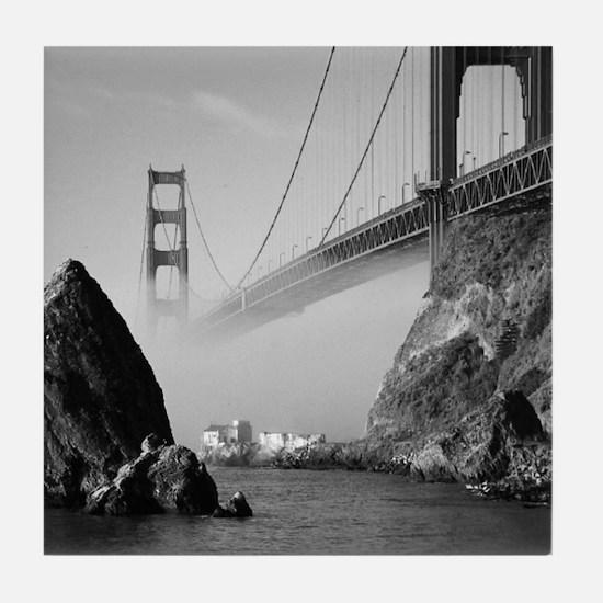 The Golden Gate * Tile Coaster