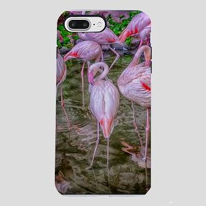 Pink Flamingos iPhone 8/7 Plus Tough Case