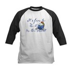 It's fun to do it.... Kids Baseball Jersey