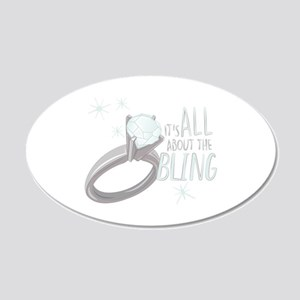 The Bling Wall Decal