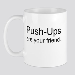 Push Ups Friend Mugs