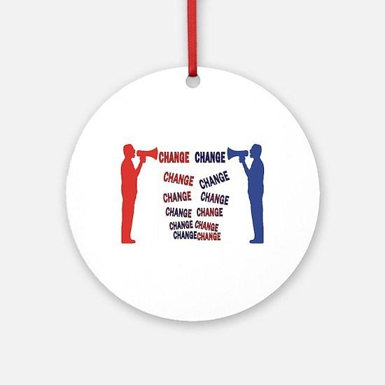 Change change Ornament (Round)