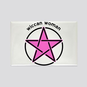 Wiccan Woman Magnets
