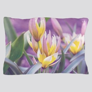 Spring Tulips Pillow Case
