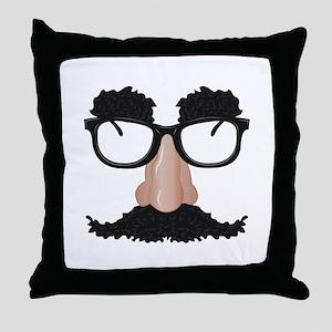 Disguise Throw Pillow