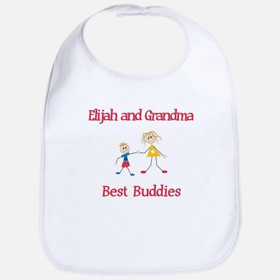 Elijah & Grandma - Buddies Bib