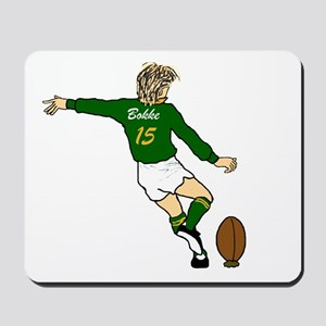 Springbok Rugby Fullback Mousepad