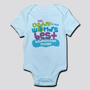 Badminton Player Gifts for Kids Infant Bodysuit