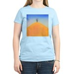 204.tree on the hill.. Women's Pink T-Shirt