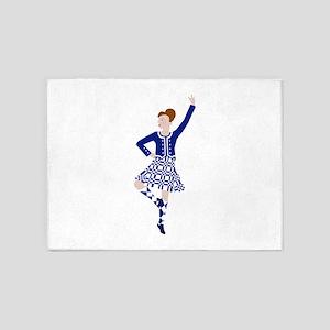 Scottish Dancer 5'x7'Area Rug