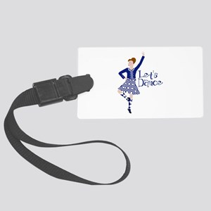 Lets Dance Luggage Tag