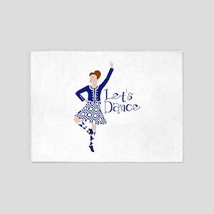 Lets Dance 5'x7'Area Rug