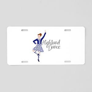 Highland Dance Aluminum License Plate