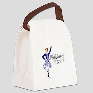 Highland Dance Canvas Lunch Bag