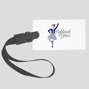 Highland Dance Luggage Tag