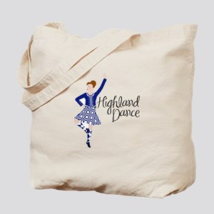 Highland Dance Tote Bag