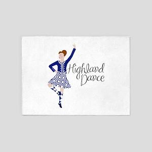 Highland Dance 5'x7'Area Rug
