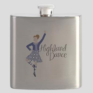 Highland Dance Flask
