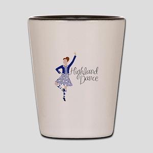 Highland Dance Shot Glass