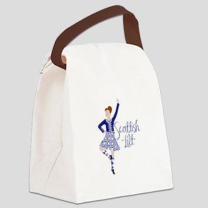 Scottish Lilt Canvas Lunch Bag