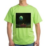 79.moon couch..? Green T-Shirt
