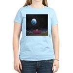79.moon couch..? Women's Pink T-Shirt