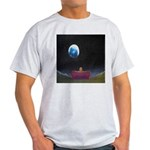 79.moon couch..? Ash Grey T-Shirt