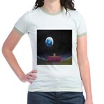 79.moon couch..? Jr. Ringer T-Shirt
