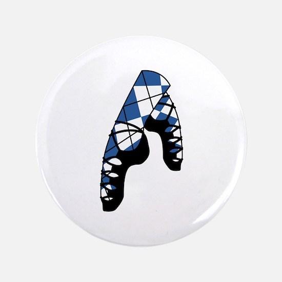 Scottish Dance Shoes Button