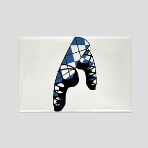 Scottish Dance Shoes Magnets