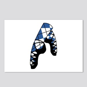 Scottish Dance Shoes Postcards (Package of 8)