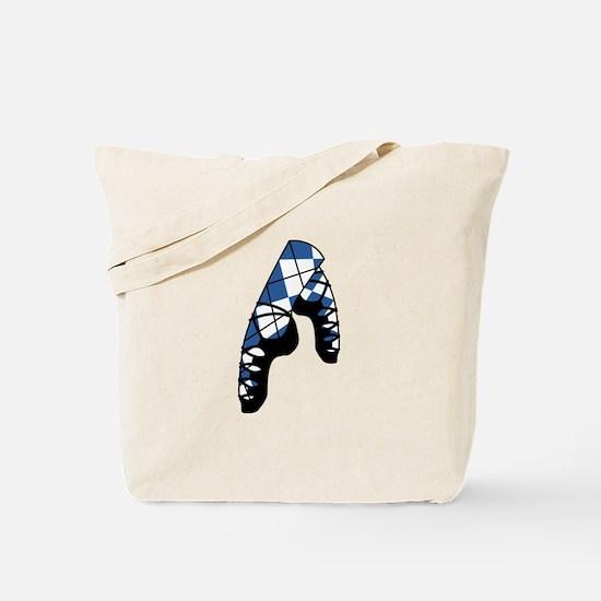 Scottish Dance Shoes Tote Bag
