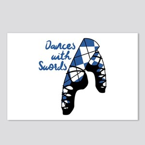 Dances With Swords Postcards (Package of 8)