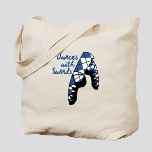 Dances With Swords Tote Bag