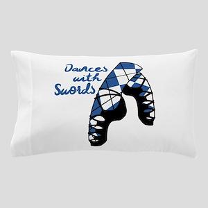 Dances With Swords Pillow Case