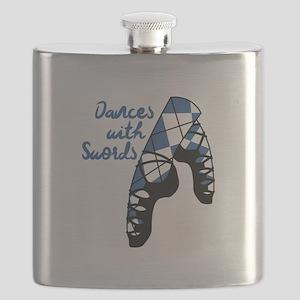 Dances With Swords Flask