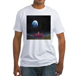 79.moon couch..? Fitted T-Shirt